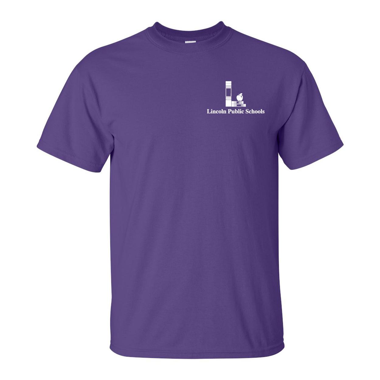 tee shirt purple food zone. Black Bedroom Furniture Sets. Home Design Ideas