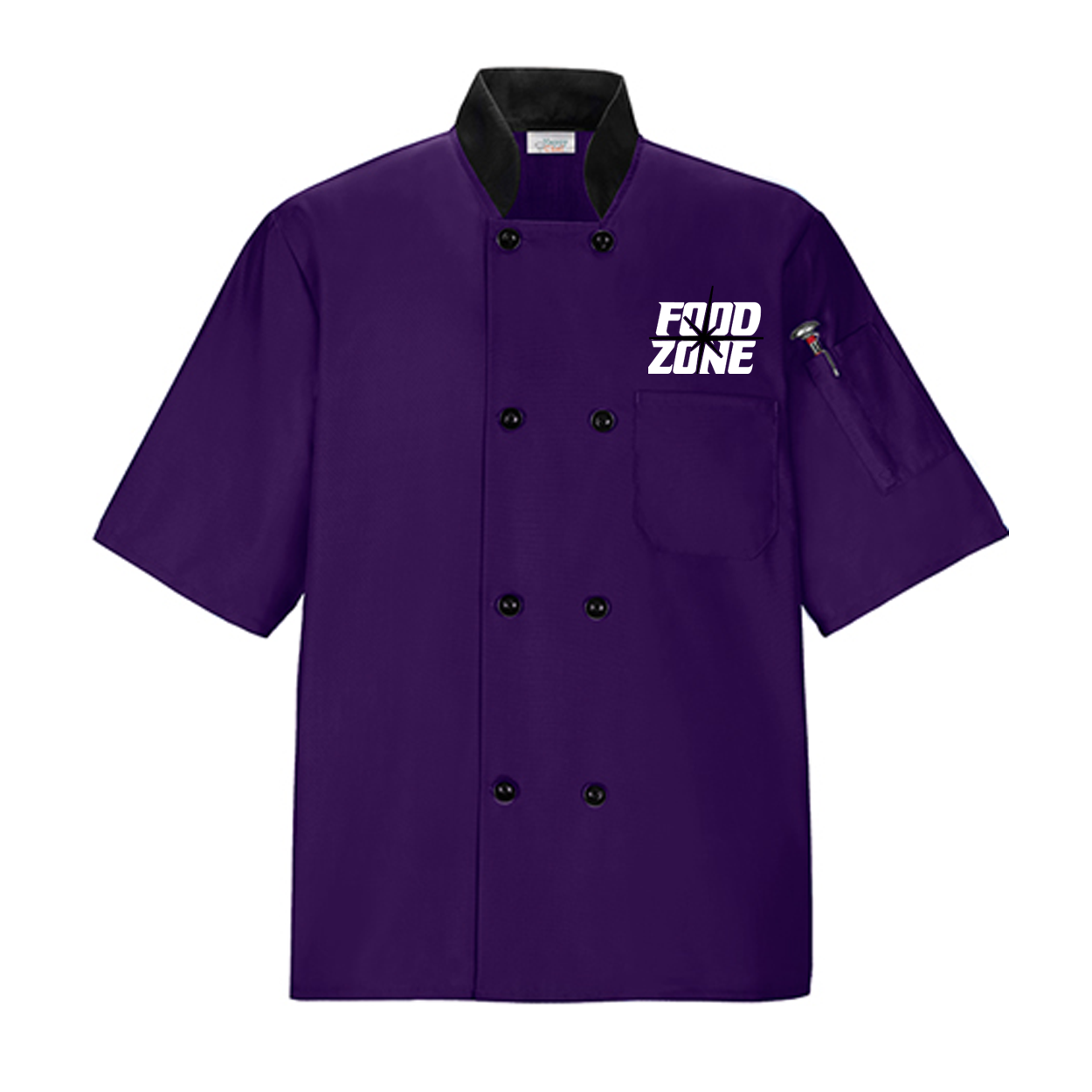 Food Color Combinations Chef Coat Purple Food Zone